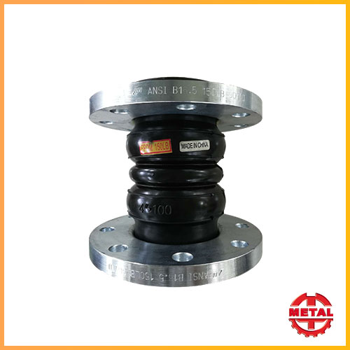 Flexible Rubber Joints Flange Type Twin Sphere